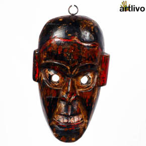 Wooden Tribal Mask - MA006