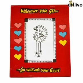"POPART Valentine Love Photo Frame - Red - 5*7"""