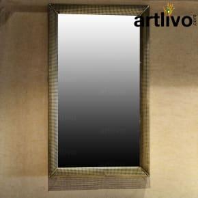 Net Style Iron Mirror Frame