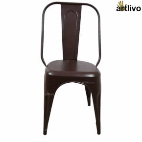 POPART French Brown Long Chair