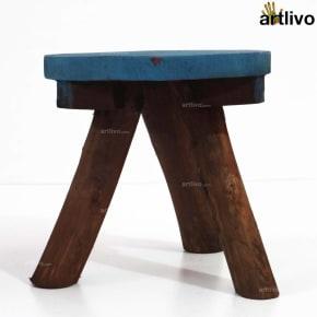 POPART Tri Stool Blue