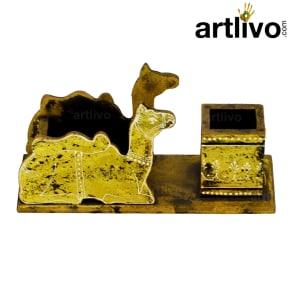 Pen Holder Camel Golden
