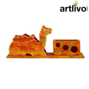 Pen Holder Camel Orange