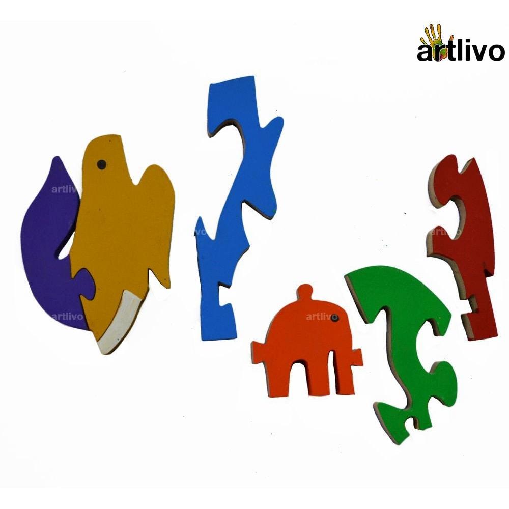 POPART Jigsaw - Baby & Mamma Elephant