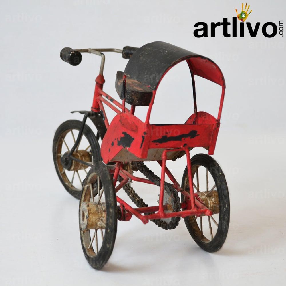 Decorative cycle riksha