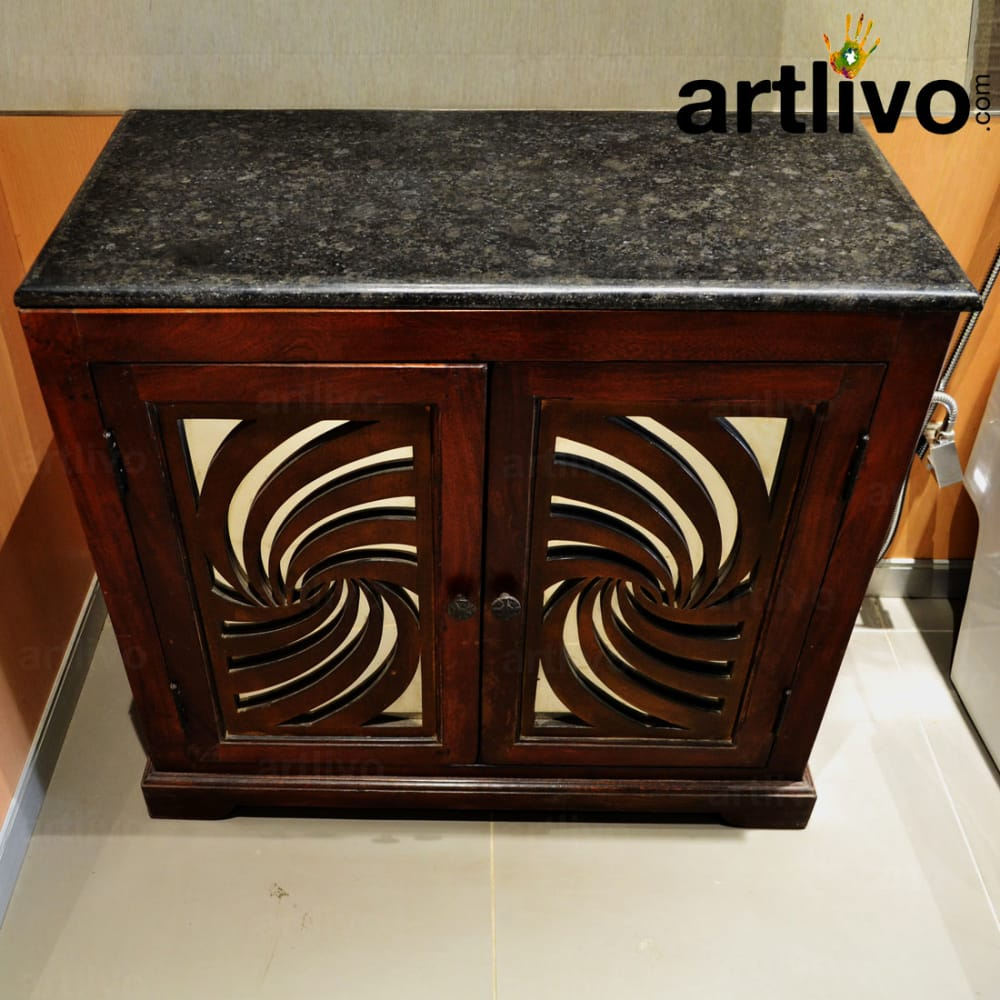 Wooden Carving Cabinet
