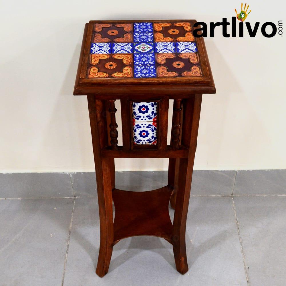 Tilo Morrocan Side Table Straight Legs
