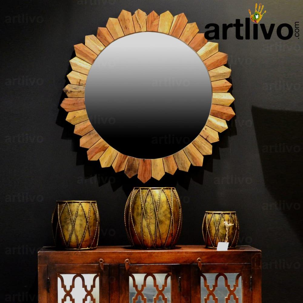 Antique wooden mirror frame - RST6430