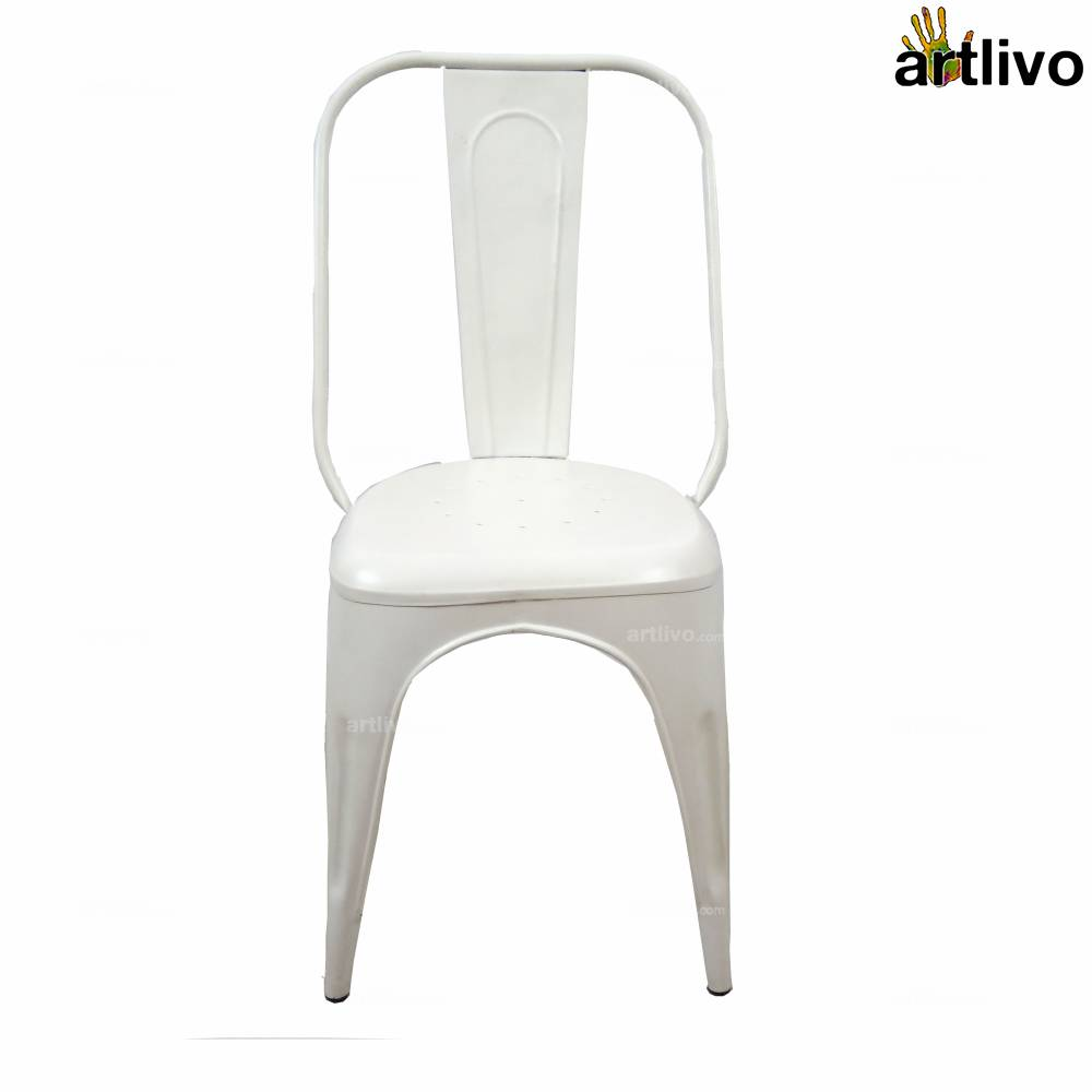 POPART French White Long Chair