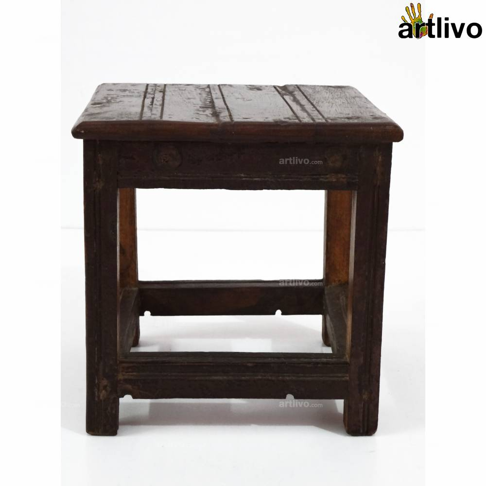 ECOLOG Assorted Wooden Small Stool