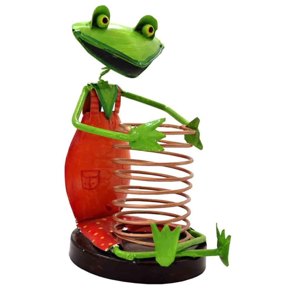 Iron Frog Pen Stand