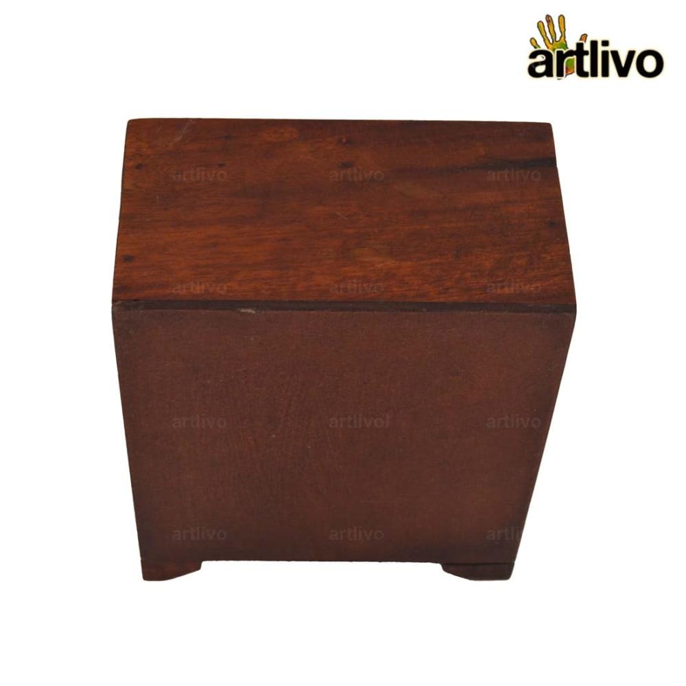 POPART Ceramic 4 Drawer Square Box - BO128