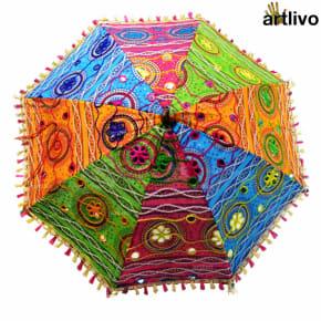 POPART Assorted Decorative Sun Umbrella 25*32 Inch
