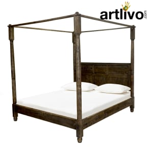 Poster Bed - Gray
