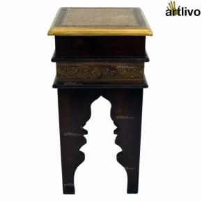 Moroccan Stool Brown