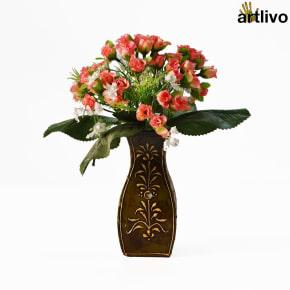EMBOSSED Penguin Flower Vase