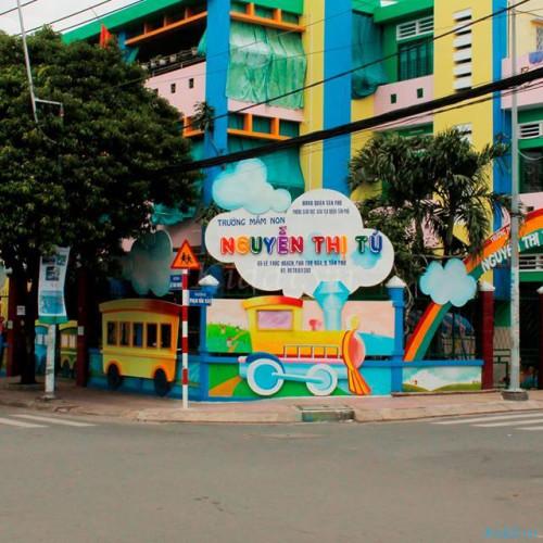 Trường Mầm non Nguyễn Thị Tú - Lê Thúc Hoạch
