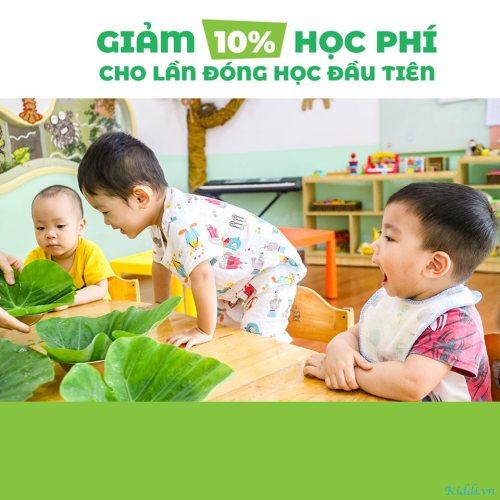 Trường Mầm non Quốc tế Thế Giới Xanh (Greenworld International Kindergarten) - Hoàng Hoa Thám