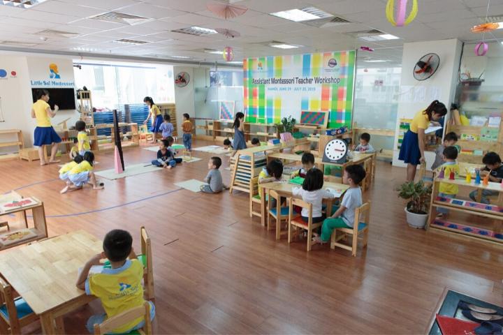 Top 4 trường mầm non Tư thục tốt ở khu vực Phương Mai
