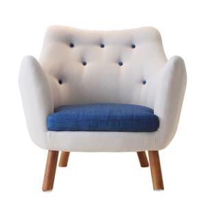 Spandex Small Checks Dining Chair