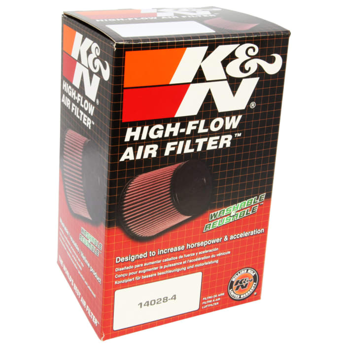K/&N Filters RC-0983 Universal Clamp On Hi-Flow Air Intake Filter