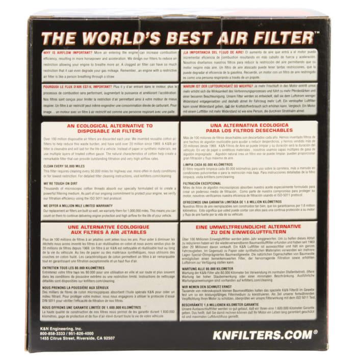 High Flow Air Filter K/&N Engineering  YA-1307