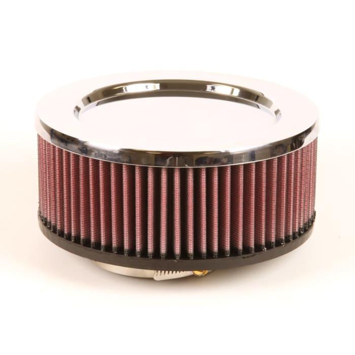 K/&N RU-0980 Universal Round Straight Rubber Air Filter