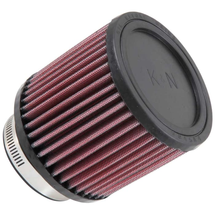 "RED 2001 UNIVERSAL 76mm 3/"" FLAT TOP AIR INTAKE FILTER"