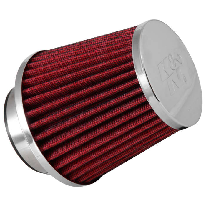 Details about  /K/&N Filters RG-1001BL Universal Chrome Hi-Flow Air Intake Filter