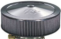 Fourteen Inch Air Filters - Chrome