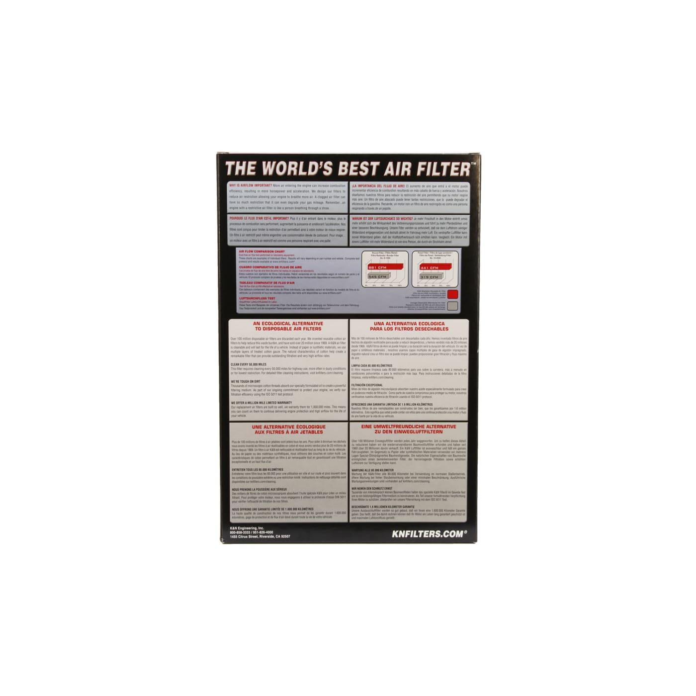 33-2198 Luftfilter Filter NEU K/&N Filters