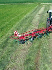 Kverneland 8583T - 85111 T, tidy in transportation, strong design with high performance