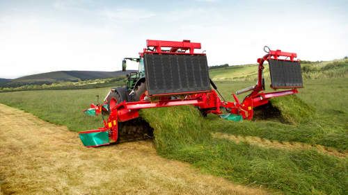Mower Conditioners - Kverneland 5090 MT, butterfly mower with 9meter working width