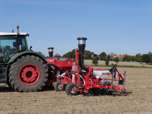 Kverneland optima RS, high efficiency, environment friendly, GEOCONTROL and GEOSEED