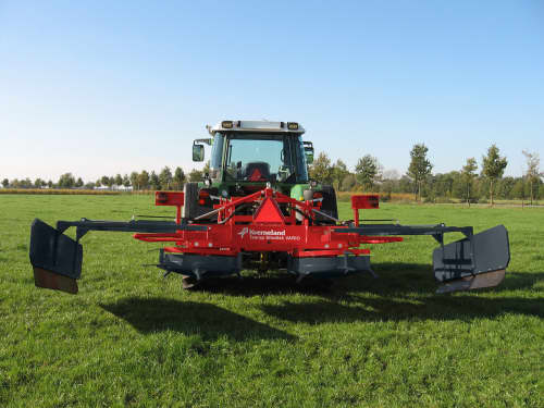 Silage Spreaders - Kverneland Silodisk EVO - Silodisk VARIO,  easy to use with comfort and large working durability