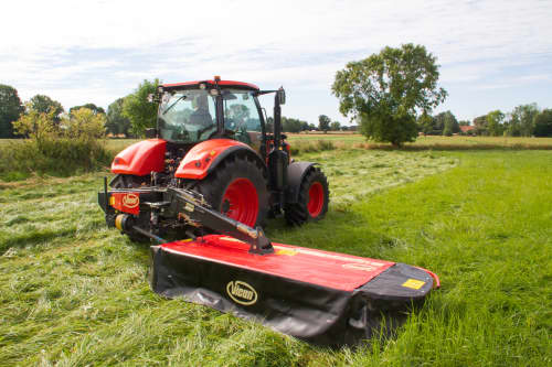 Plain Mowers - VICON EXTRA 432H - 436H - 440H - REAR MOUNTED DISC MOWERS, a disc mower with hydraulic suspension and high performance during field operation