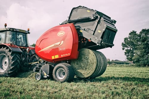 Variable Chamber round balers - VICON RV 5216 - 5220 PLUS, high performance during field operation