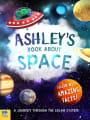 Personalised children's book space adventure