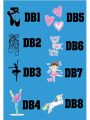 Personalised dance bag images by Labels4Kids