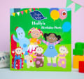 Personalised in the night birthday book