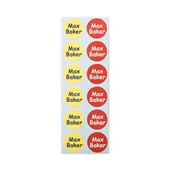 Piccole Etichette adesive rotonde