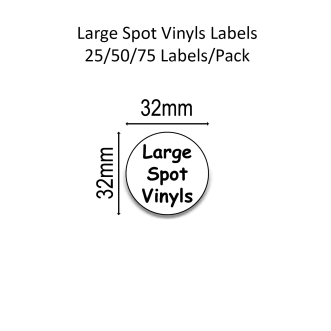 Large Spot Name Labels