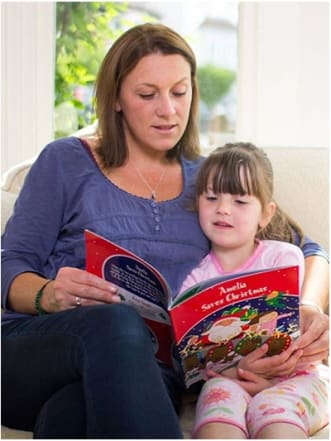 Personalised Christmas Book: Your Child Saves Christmas