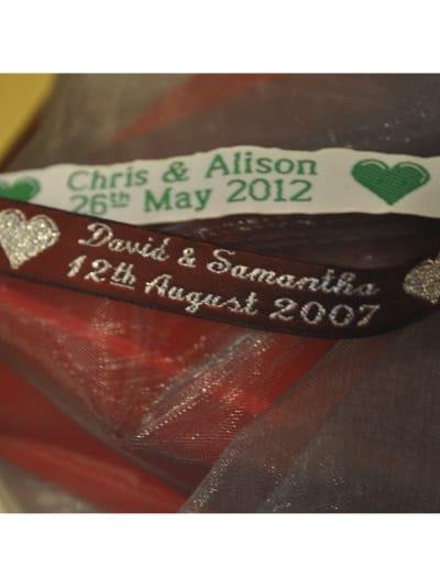 Personalised Celebration Ribbon 12mm Wide