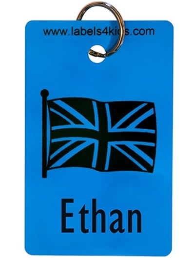 Personalised Bag Tags, Labels4kids, allergy