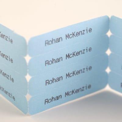 Etiquetas Personalizadas Fáciles de Usar para Planchar