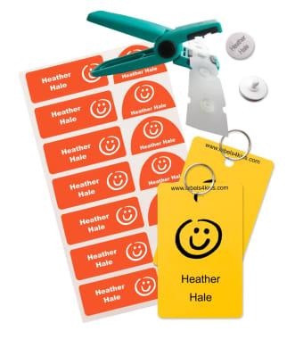 Pack etiquetas snappy para el cole