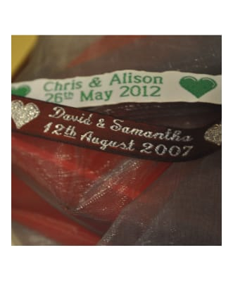 Personalised Celebration Ribbon 12mm Wide