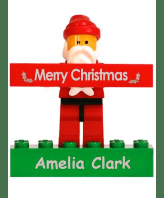 Personalised LEGO® Santa