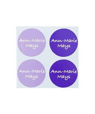 Etiquetas Circulares Largas